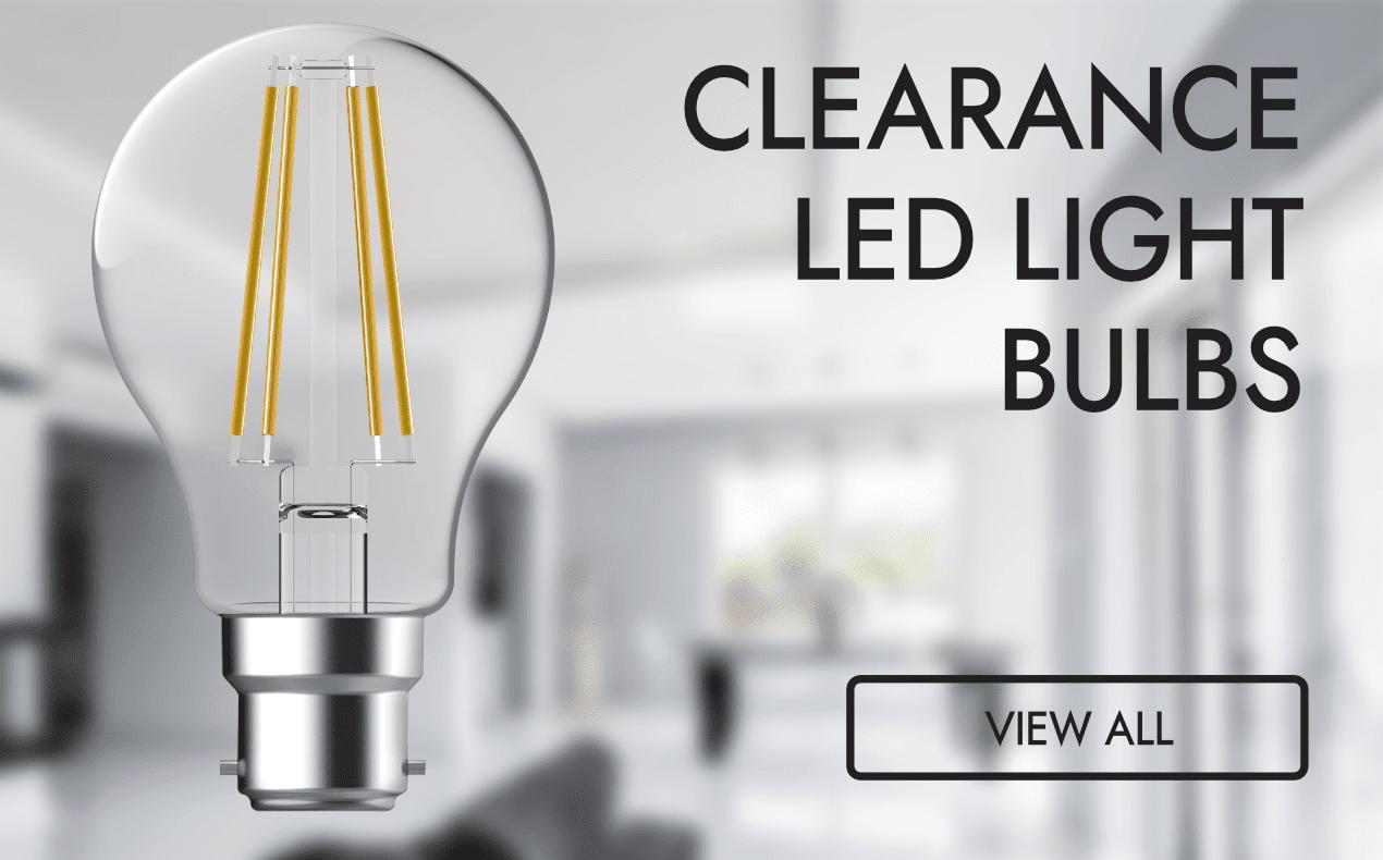 Clearance LED Bulbs