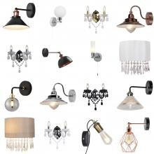 Click to browse View All Clearance Wall Lights