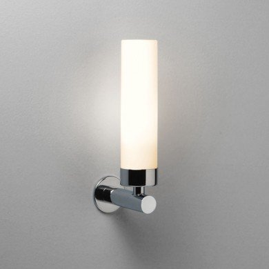 Astro Lighting - Tube 120 1021001 (274) - IP44 Polished Chrome Wall Light