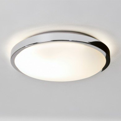Astro Lighting - Denia 1134001 (587) - IP44 Polished Chrome Ceiling Light