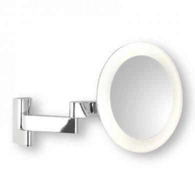 Astro Lighting - Niimi Round LED 1163001 (760) - IP44 Polished Chrome Magnifying Mirror