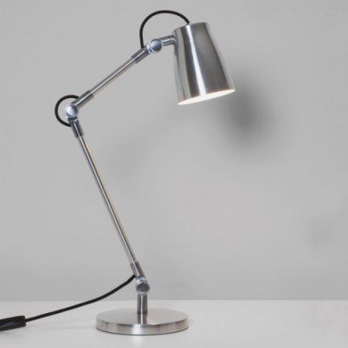 Astro Lighting - Atelier Desk Complete 1224004 (4562) & 1224001 (4559) - Polished Aluminium Table Lamp