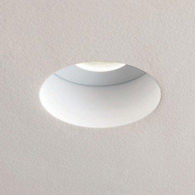 Astro Lighting - Trimless Round 1248002 (5624) - IP65 Fire Rated Matt White Downlight/Recessed Spot Light
