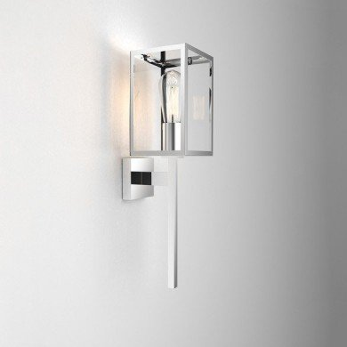 Astro Lighting - Coach 130 1369002 (8160) - IP44 Polished Stainless Steel Wall Light