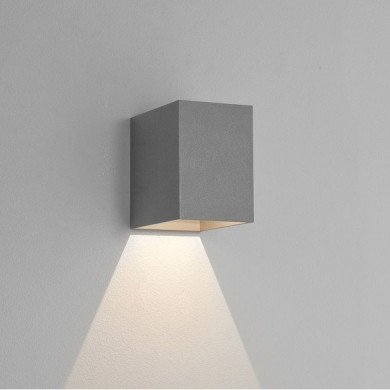 Astro Lighting - Oslo 100 LED 1298022 (8194) - IP65 Textured Grey Wall Light