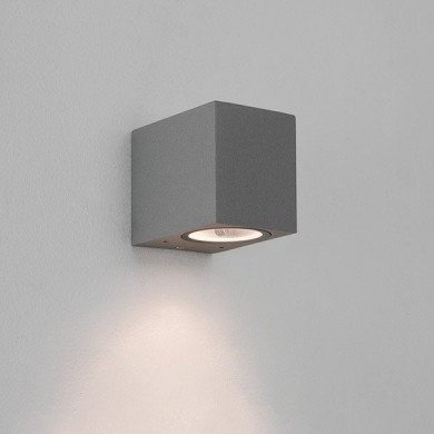 Astro Lighting - Chios 80 1310007 (8195) - IP44 Textured Grey Wall Light