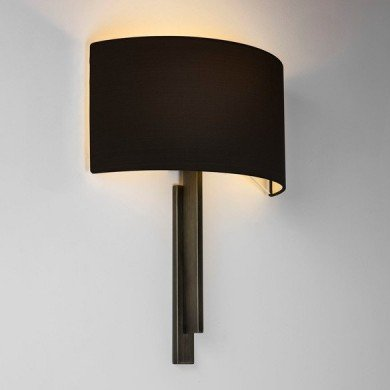 Astro Lighting - Tate 1334007 (8246) - Bronze Wall Light Excluding Shade