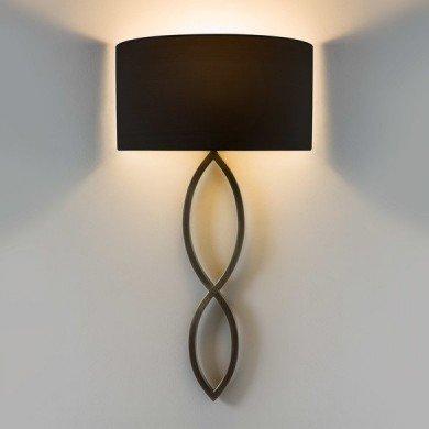 Astro Lighting - Caserta 1349010 (8260) - Bronze Wall Light Excluding Shade