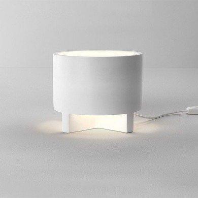 Astro Lighting - Martello 240 1395002 (8300) - Plaster Table Lamp