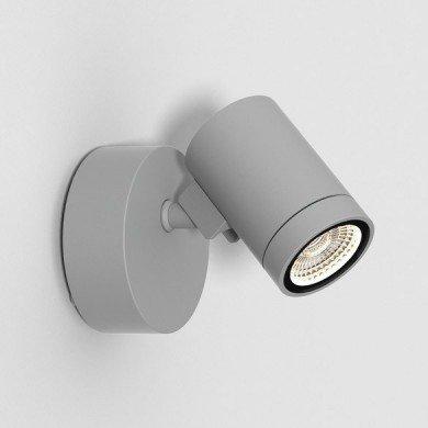 Astro Lighting - Bayville Single Spot 1401006 (8307) - IP65 Textured Grey Wall Light