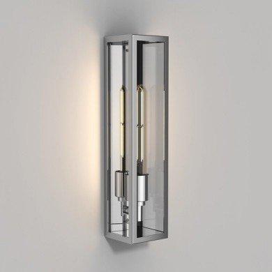Astro Lighting - Harvard Wall 1402002 (8334) - IP44 Polished Stainless Steel Wall Light
