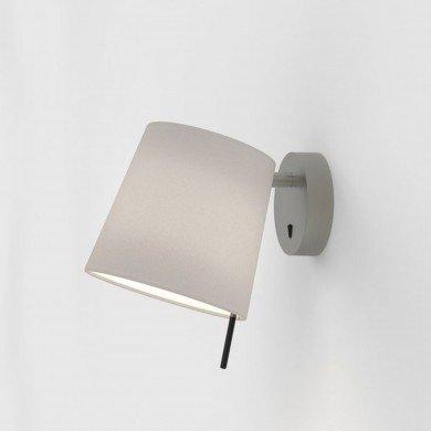 Astro Lighting - Mitsu Wall 1394003 (8406) & 5018034 (4217) - Matt Nickel Wall Light with Putty Shade