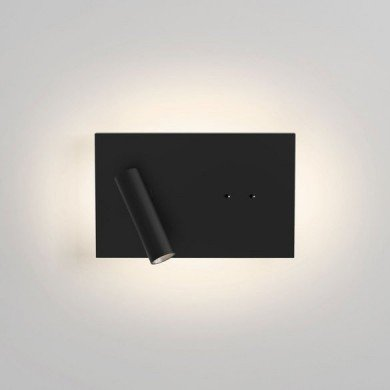 Astro Lighting - Edge Reader Mini LED 1352019 (8409) - Matt Black Reading Light