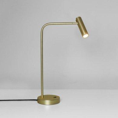 Astro Lighting - Enna Desk LED 1058106 (8421) - Matt Gold Table Lamp