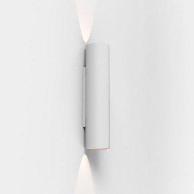 Astro Lighting - Yuma 300 LED 1399001 (8423) - Textured White Wall Light