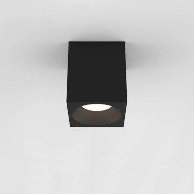 Astro Lighting - Kos Square 140 LED 1326020 (8514) - IP65 Textured Black Surface Mounted Downlight