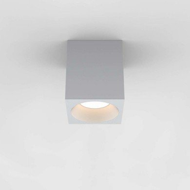 Astro Lighting - Kos Square 140 LED 1326022 (8516) - IP65 Textured White Surface Mounted Downlight