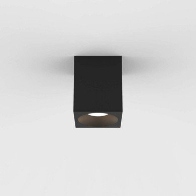 Astro Lighting - Kos Square 100 LED 1326026 (8520) - IP65 Textured Black Surface Mounted Downlight