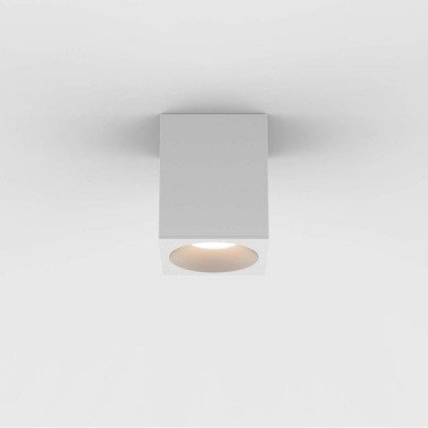 Astro Lighting - Kos Square 100 LED 1326028 (8522) - IP65 Textured White Surface Mounted Downlight