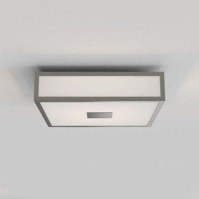 Astro Lighting - Mashiko 300 Square LED II 1121071 (8533) - IP44 Matt Nickel Ceiling Light