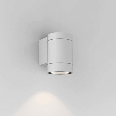 Astro Lighting - Dartmouth Single GU10 1372009 (8536) - IP54 Textured White Wall Light