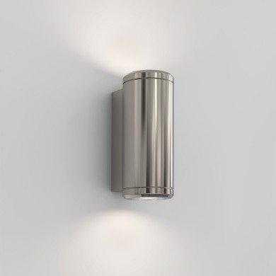 Astro Lighting - Jura Twin 1375006 (8617) - IP44 Polished Nickel Wall Light