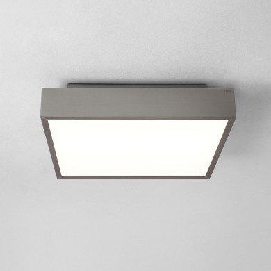 Astro Lighting - Taketa 400 LED Emergency Selftest 1169017 - IP44 Matt Nickel Ceiling Light