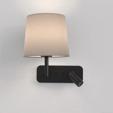 Astro Lighting - Side by Side 1406002 (8605) - Matt Black Wall Light Excluding Shade