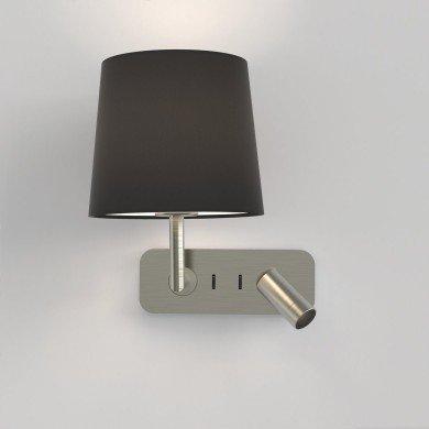 Astro Lighting - Side by Side 1406003 (8606) - Matt Nickel Wall Light Excluding Shade