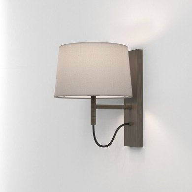 Astro Lighting - Telegraph Wall 1404012 (8586) - Bronze Wall Light Excluding Shade