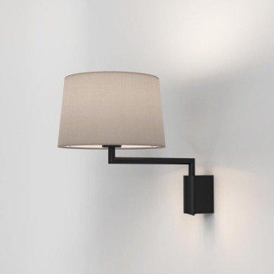 Astro Lighting - Telegraph Swing 1404001 (8562) - Matt Black Wall Light Excluding Shade