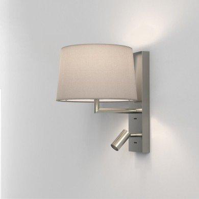 Astro Lighting - Telegraph Reader LED 1404014 (8588) - Matt Nickel Reading Light Excluding Shade