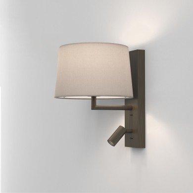 Astro Lighting - Telegraph Reader LED 1404015 (8589) - Bronze Reading Light Excluding Shade