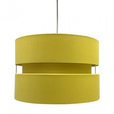 Ochre Layered Easy Fit Drum Light Shade