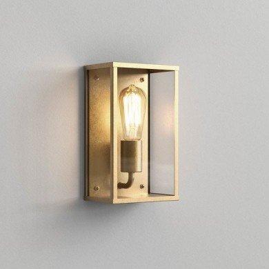 Astro Lighting - Homefield 1095034 - IP44 Natural Brass Wall Light