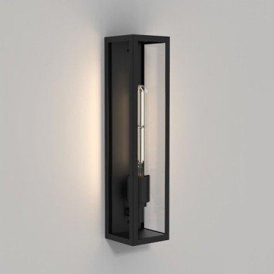 Astro Lighting - Harvard Wall 1402010 - IP44 Matt Black Wall Light