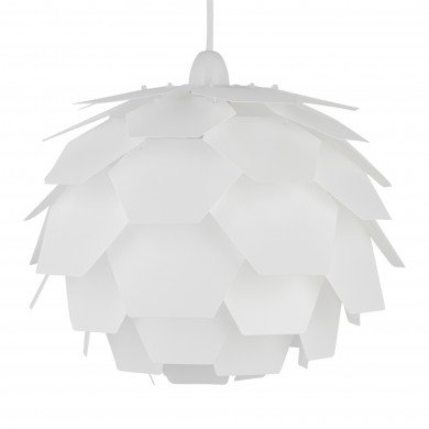 White Artichoke Easy Fit Light Shade