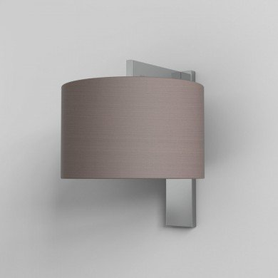 Astro Lighting - Ravello Wall 1222012 (7078) & 5016009 (4095) - Polished Chrome Wall Light with Oyster Shade Included