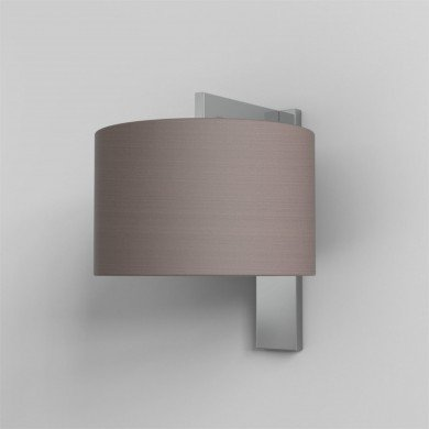 Astro Lighting - Ravello Wall 1222012 (7078) & 5016009 (4095) - Polished Chrome Wall Light with Oyster Shade