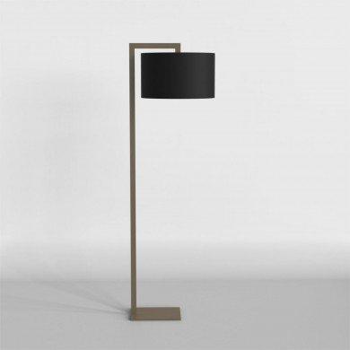 Astro Lighting - Ravello Floor 1222003 (4539) & 5016005 (4091) - Bronze Floor Stand with Black Shade