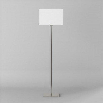 Astro Lighting - Park Lane Floor 1080017 (4517) & 5001002 (4002) - Matt Nickel Floor Stand with White Shade
