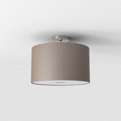 Astro Lighting - Semi Flush Unit 1362002 (7461) & 5016006 (4092) - Matt Nickel Ceiling Light with Oyster Shade