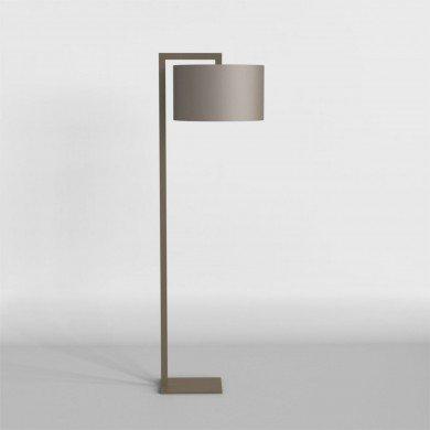 Astro Lighting - Ravello Floor 1222003 (4539) & 5016006 (4092) - Bronze Floor Stand with Oyster Shade