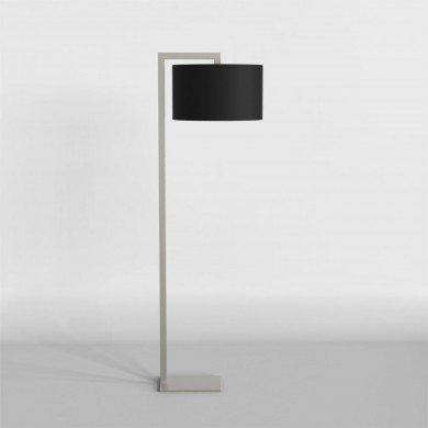 Astro Lighting - Ravello Floor 1222002 (4538) & 5016005 (4091) - Matt Nickel Floor Light with Black Shade Included