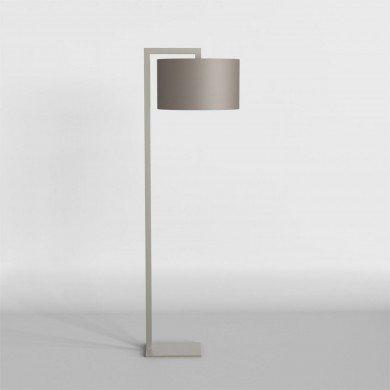 Astro Lighting - Ravello Floor 1222002 (4538) & 5016006 (4092) - Matt Nickel Floor Light with Oyster Shade Included