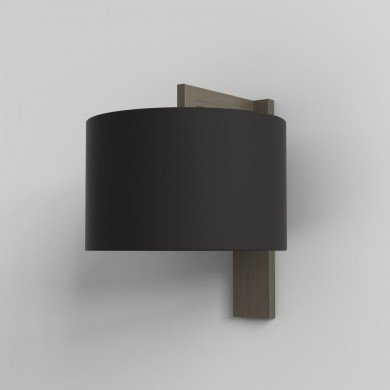 Astro Lighting - Ravello Wall 1222040 & 5016008 - Bronze Wall Light with Black Shade Included