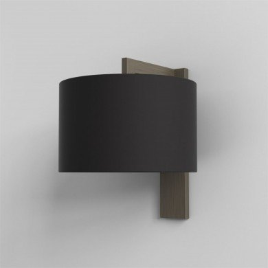 Astro Lighting - Ravello Wall 1222040 & 5016008 - Bronze Wall Light with Black Shade