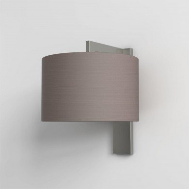 Astro Lighting - Ravello Wall 1222013 (7079) & 5016009 (4095) - Matt Nickel Wall Light with Oyster Shade Included