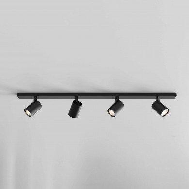 Astro Lighting - Ascoli Four Bar 1286084 - Matt Black Spotlight