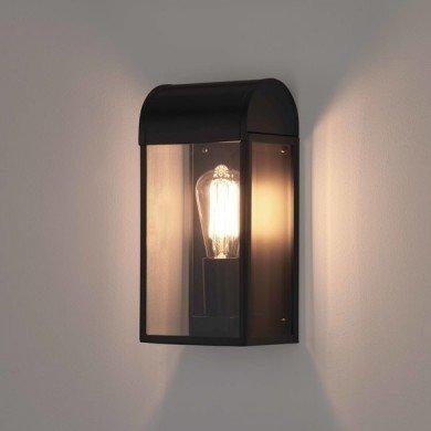 Astro Lighting - Newbury 1339001 (7267) - IP44 Textured Black Wall Light